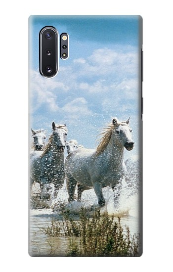 Printed White Horse 2 Samsung Galaxy Note 10 Plus Case