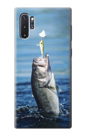 Printed Bass Fishing Samsung Galaxy Note 10 Plus Case