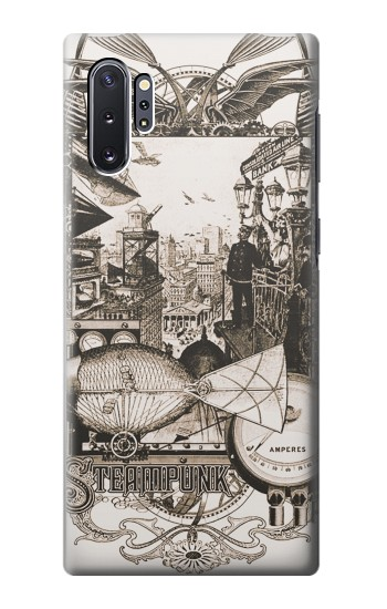 Printed Steampunk Drawing Samsung Galaxy Note 10 Plus Case