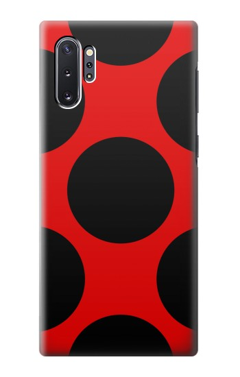 Printed Lady bug Dot Pattern Samsung Galaxy Note 10 Plus Case