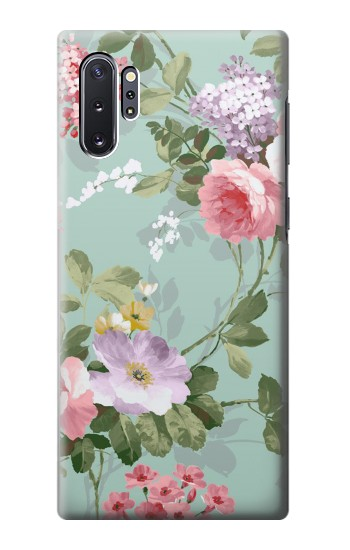 Printed Flower Floral Art Painting Samsung Galaxy Note 10 Plus Case