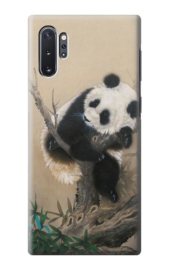 Printed Panda Fluffy Art Painting Samsung Galaxy Note 10 Plus Case
