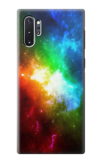Printed Colorful Rainbow Space Galaxy Samsung Galaxy Note 10 Plus Case