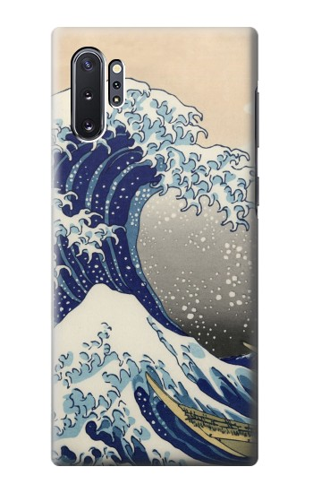 Printed Katsushika Hokusai The Great Wave off Kanagawa Samsung Galaxy Note 10 Plus Case
