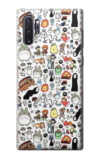 Printed Ghibli Characters Samsung Galaxy Note 10 Plus Case