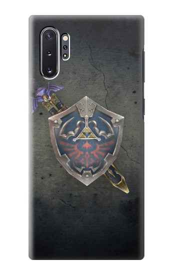 Printed Legend of Zelda Shield Samsung Galaxy Note 10 Plus Case