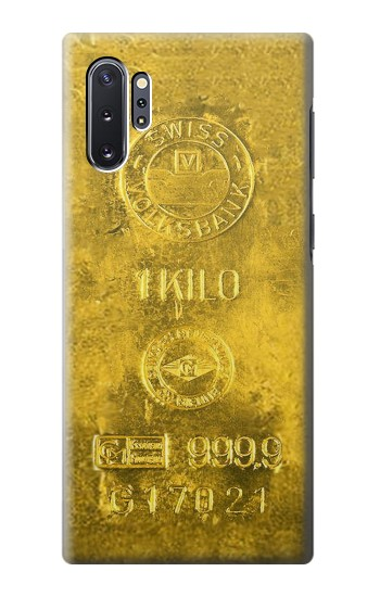 Printed One Kilo Gold Bar Samsung Galaxy Note 10 Plus Case