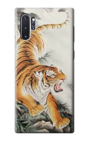 Printed Chinese Tiger Tattoo Painting Samsung Galaxy Note 10 Plus Case