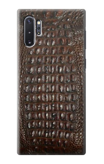 Printed Brown Skin Alligator Graphic Printed Samsung Galaxy Note 10 Plus Case