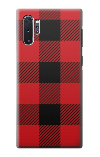 Printed Red Buffalo Check Pattern Samsung Galaxy Note 10 Plus Case