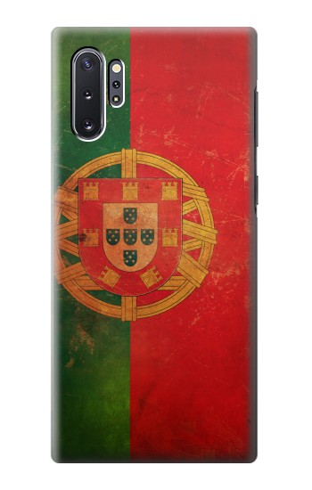 Printed Vintage Portugal Flag Samsung Galaxy Note 10 Plus Case