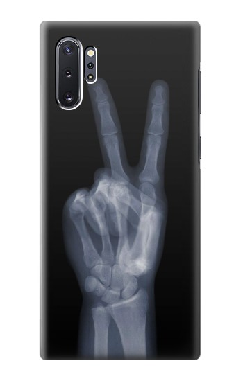 Printed X-ray Peace Finger Samsung Galaxy Note 10 Plus Case