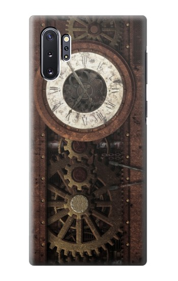 Printed Steampunk Clock Gears Samsung Galaxy Note 10 Plus Case