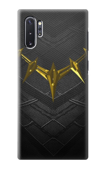 Printed Black Panther Inspired Costume Gold Necklace Samsung Galaxy Note 10 Plus Case