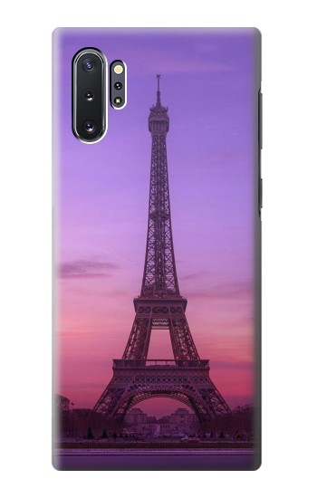 Printed Eiffel Paris Sunset Samsung Galaxy Note 10 Plus Case