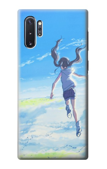 Printed Weathering With You Amano Hina Samsung Galaxy Note 10 Plus Case