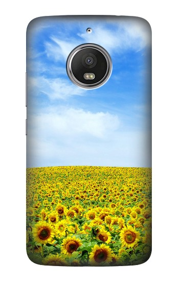 Printed Sunflower HTC Desire Eye Case