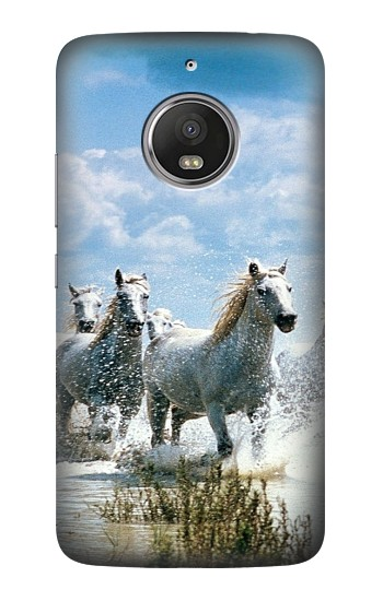 Printed White Horse 2 HTC Desire Eye Case