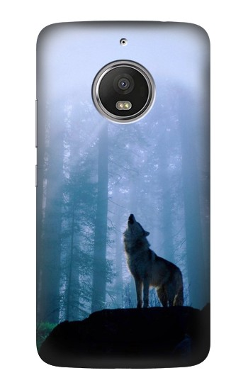 Printed Wolf Howling in Forest HTC Desire Eye Case