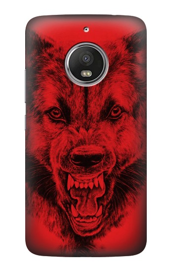Printed Red Wolf HTC Desire Eye Case