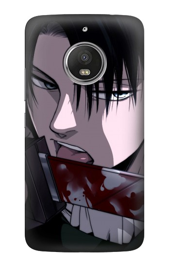 Printed Attack on Titan Rivaille Levi HTC Desire Eye Case