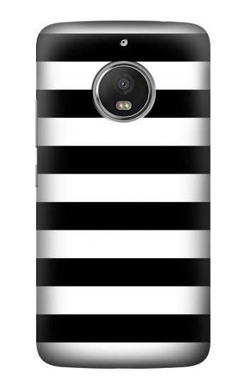Printed Black and White Striped HTC Desire Eye Case