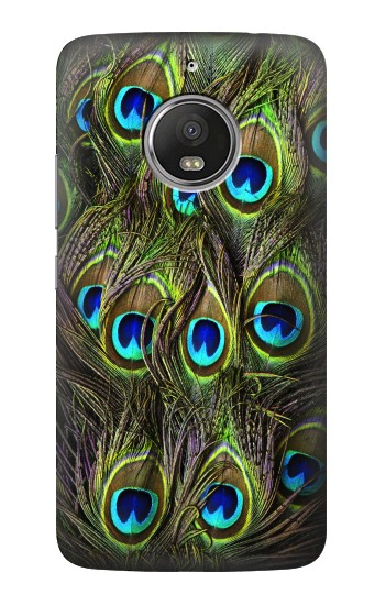 Printed Peacock Feather HTC Desire Eye Case