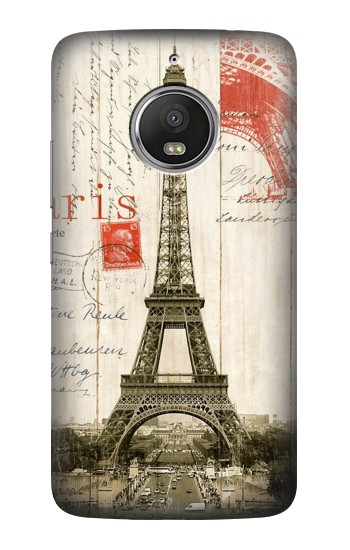 Printed Eiffel Tower Paris Postcard HTC Desire Eye Case