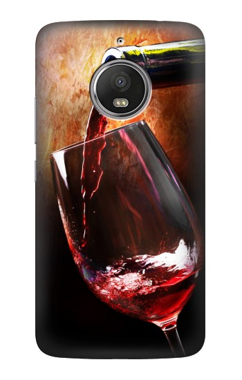 Printed Red Wine Bottle And Glass HTC Desire Eye Case