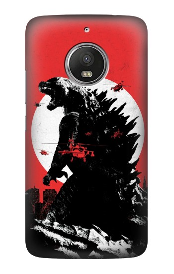 Printed Godzilla Japan Flag HTC Desire Eye Case