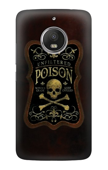 Printed Unfiltered Poison Vintage Glass Bottle HTC Desire Eye Case