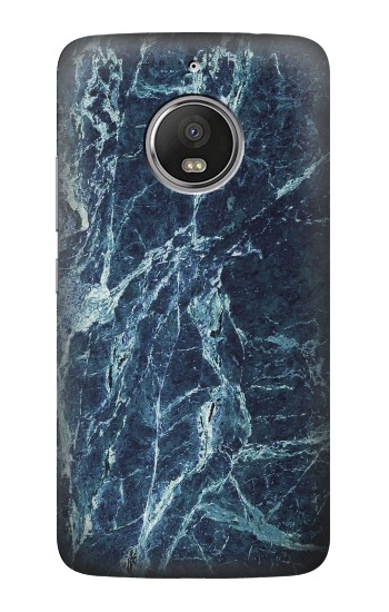 Printed Light Blue Marble Stone Texture Printed HTC Desire Eye Case