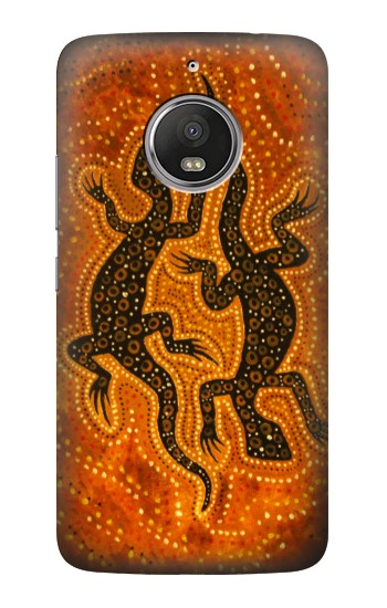 Printed Lizard Aboriginal Art HTC Desire Eye Case