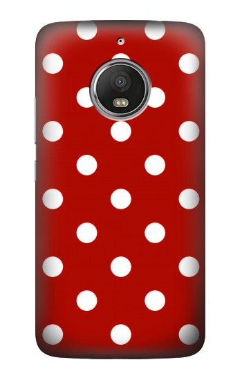 Printed Red Polka Dots HTC Desire Eye Case