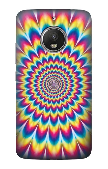 Printed Colorful Psychedelic HTC Desire Eye Case