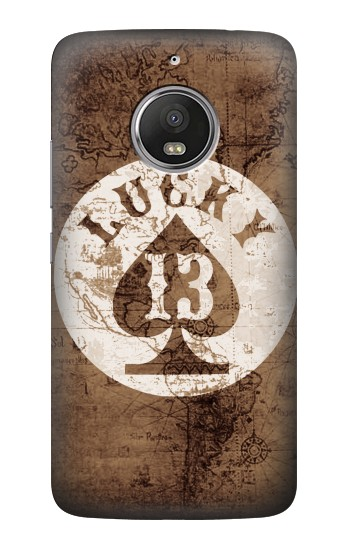 Printed Lucky 13 Old Map HTC Desire Eye Case