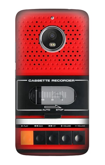 Printed Red Cassette Recorder Graphic HTC Desire Eye Case