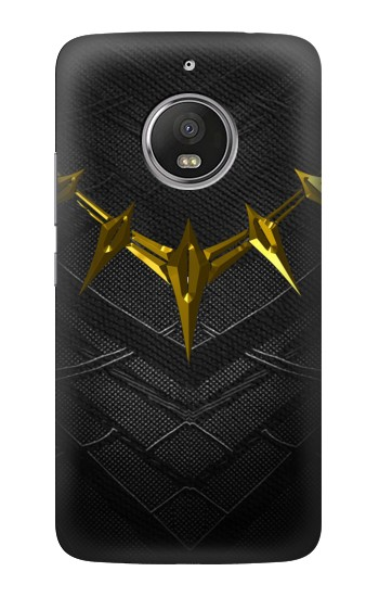 Printed Black Panther Inspired Costume Gold Necklace HTC Desire Eye Case