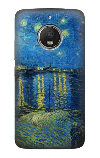 Printed Van Gogh Starry Night Over Rhone HTC Desire Eye Case