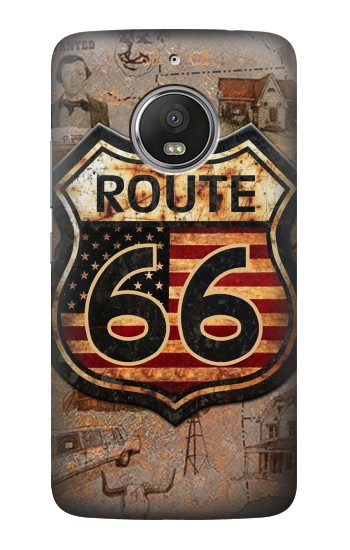 Printed Route 66 HTC Desire Eye Case