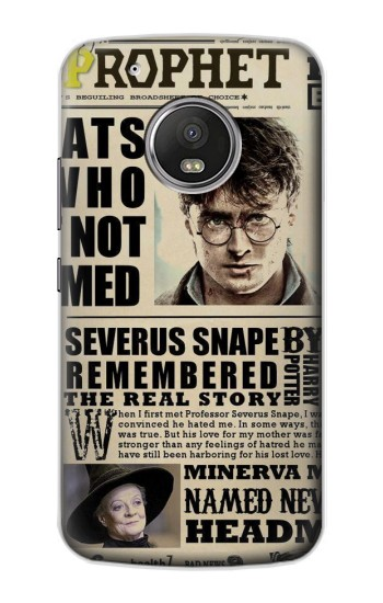 Printed Harry Potter Daily Prophet Apple iPod Touch 5G Case