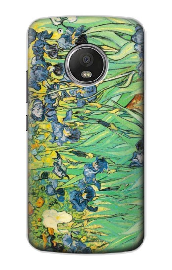 Printed Van Gogh Irises Apple iPod Touch 5G Case