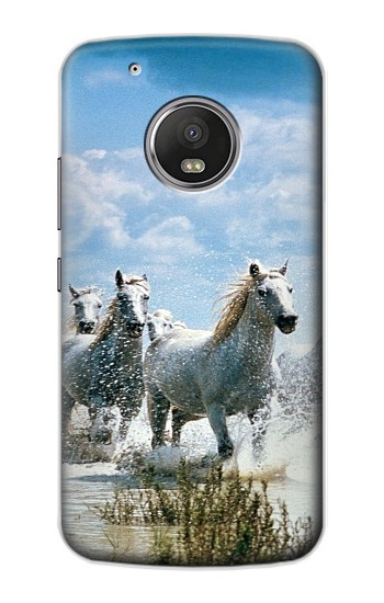 Printed White Horse 2 Apple iPod Touch 5G Case
