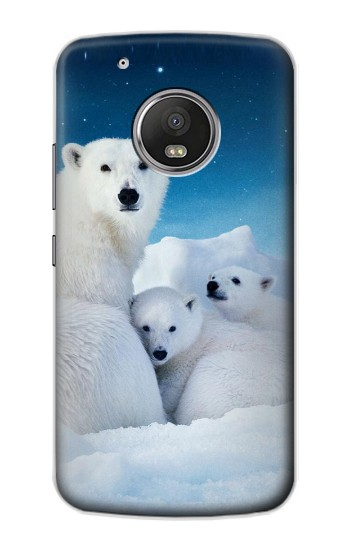 Printed Polar Bear Family Arctic Apple iPod Touch 5G Case