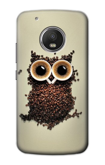 Printed Coffee Owl Apple iPod Touch 5G Case