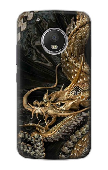 Printed Gold Dragon Apple iPod Touch 5G Case