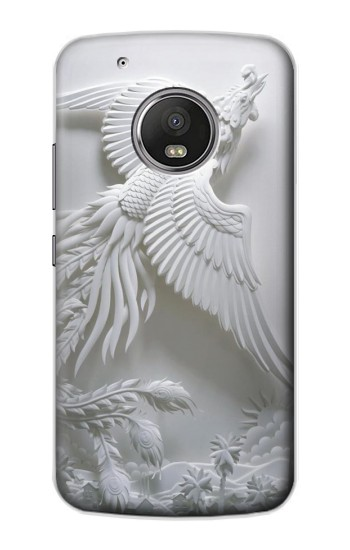 Printed Phoenix Carving Apple iPod Touch 5G Case