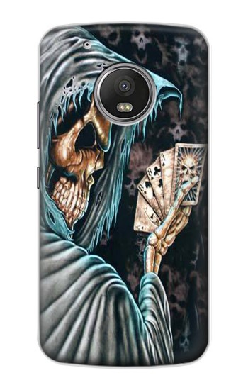 Printed Grim Reaper Death Poker Apple iPod Touch 5G Case