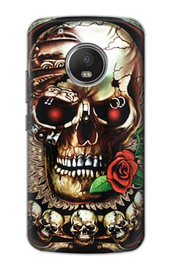 Printed Skull Wing Rose Punk Apple iPod Touch 5G Case