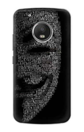 Printed V Mask Guy Fawkes Anonymous Apple iPod Touch 5G Case